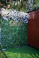 Phông cưới bằng cỏ
