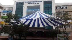 Cho thuê nhà dù trắng xanh