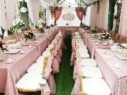 Bạn có biết mức giá thuê bàn ghế đám cưới hiện nay là bao nhiêu?