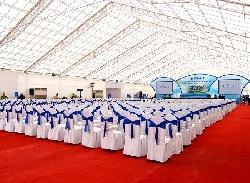 Cho thuê bàn ghế sự kiện lễ khánh thành công ty