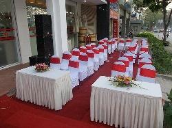 Cho thuê bàn ghế tại Hà Đông