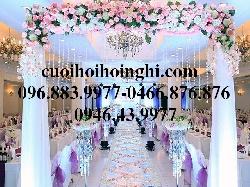 Cho thuê cổng hoa mẫu 04