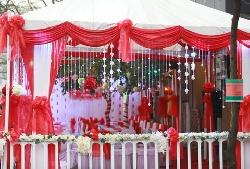Cho thuê nhà bạt cưới hỏi tại Hà Nội