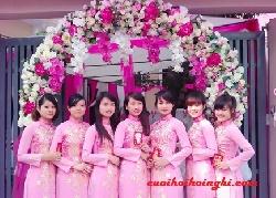 Cổng hoa cưới đẹp mẫu 01