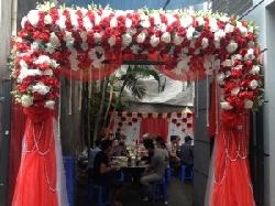 Cổng hoa cưới mẫu 02