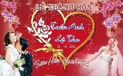 Phông bạt cưới giá rẻ tại Hà Nội