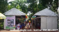 Thi công gian hàng hội chợ, hội trại, triển lãm giá rẻ tại Hà Nội