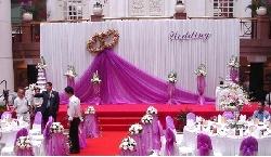 Trang trí sân khấu tiệc cưới đẹp SK02
